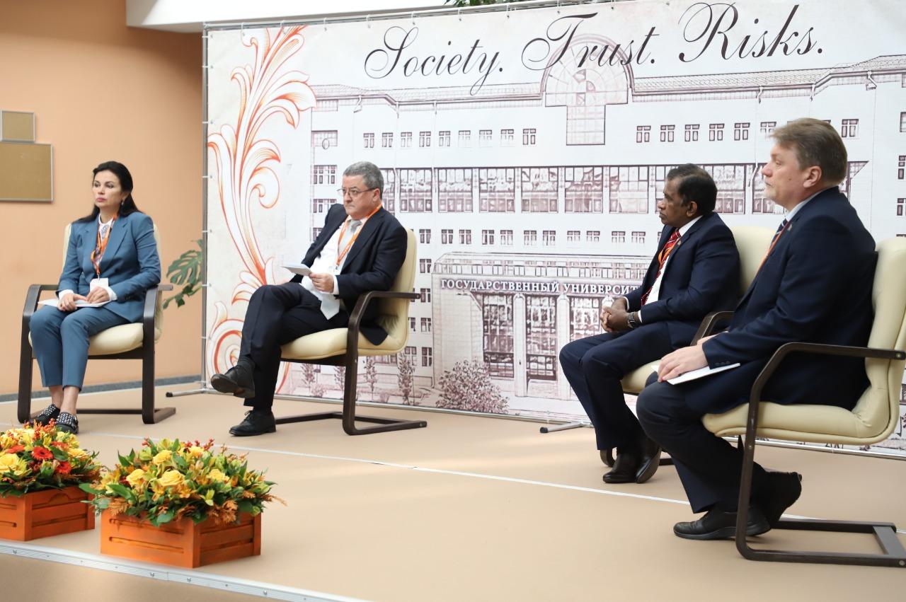 В ГУУ состоялся Ежегодный Международный форум «Общество. Доверие. Риски»